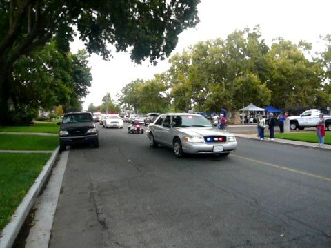 Here is the October 4th 2008 Ripon California Police Car Parade. Participants brought many vintage and current model cars for the show.