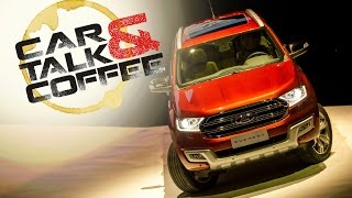 All-New 2015 Ford Everest, Driven in Thailand!