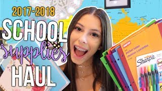 SCHOOL SUPPLIES HAUL 2017!!