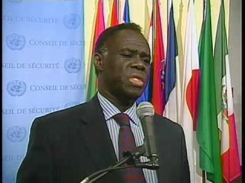 MaximsNewsNetwork: BURUNDI & UN SECURITY COUNCIL PRESIDENT MICHEL KAFANDO of BURKINA FASO (UNTV)