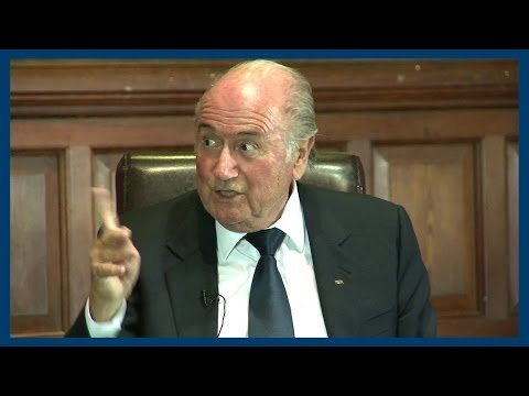 The Qatar World Cup | Sepp Blatter | Oxford Union