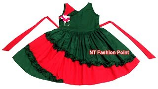Kids preferably high quality cotton summer baby girl's dress cutting & stitching