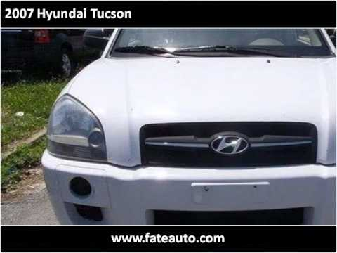 2007 Hyundai Tucson Used Cars Bradenton FL