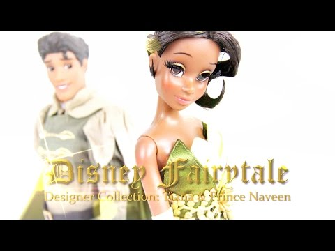 Doll Review: Disney Fairytale Collection Tiana & Prince Naveen
