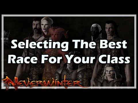 Selecting The Best Race For Your Class In Neverwinter