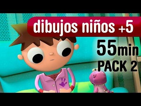 1 hora de dibujos animados, series dibujos niños +5 años - Pack2