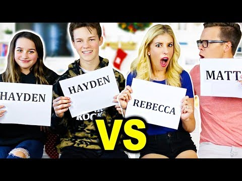 Who's Most Likely To Challenge with Annie Leblanc and Hayden Summerall!