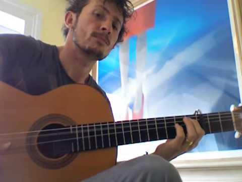 Tao Ruspoli--Bulerias de Diego Del Gastor (flamenco guitar)