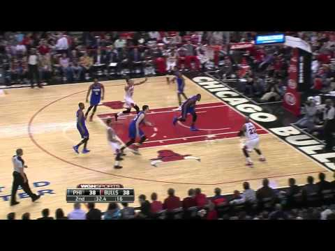 Philadelphia 76ers vs Chicago Bulls | March 22, 2014 | NBA 2013-14 Season