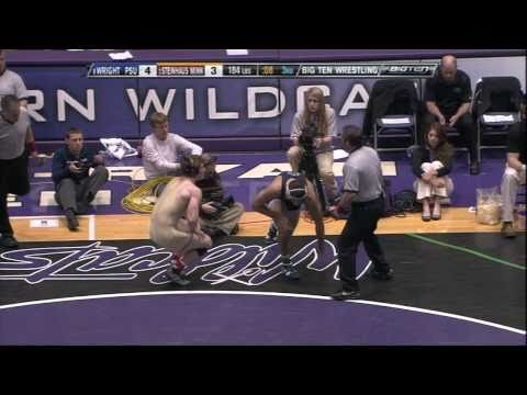 Quentin Wright vs Kevin Steinhaus (184) - 2011 Big Ten Wrestling Championship