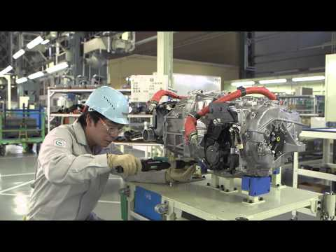 Mirai production line: chassis and fuel cell system