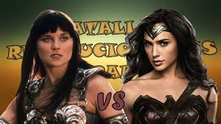 Xena VS Wonder Woman l Batallas Revolucionarias Rap l T Final
