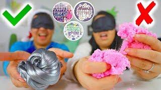 Blindfold Challenge! Famous VS Underrated Slime Shops