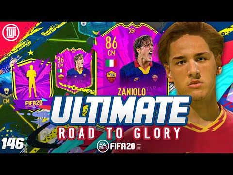 FULLY UPGRADED 86 ZANIOLO!!! ULTIMATE RTG #146 - FIFA 20 Ultimate Team Road to Glory