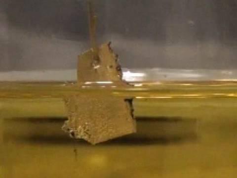 Aqua Regia dissolves Gold - Periodic Table of Videos