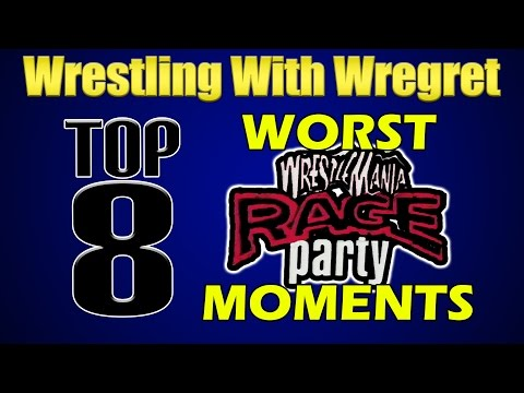 Top 8 Worst Things About the Wrestlemania Rage Party | Wrestling With Wregret