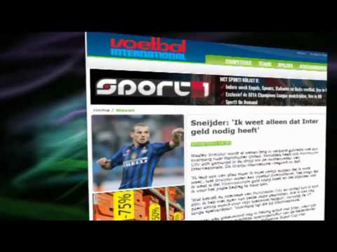 Wesley Sneijder move to Manchester United gains Momentum