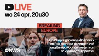 Herbekijk: jongeren confronteren politici over toekomst van Europa