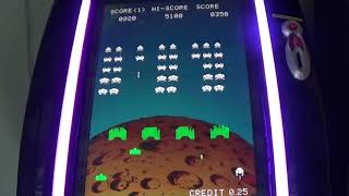 Space Invaders 2 Player Arcade