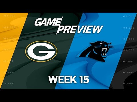 Green Bay Packers vs. Carolina Panthers | NFL Week 15 Game Preview | Film Review