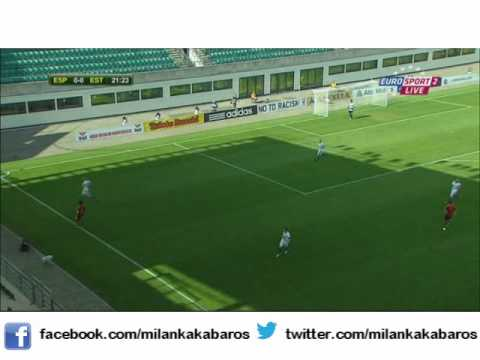 Suso V Estonia Under 19s by MilanKakaBaros
