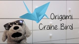Pretty Awesome (origami) Crane Bird