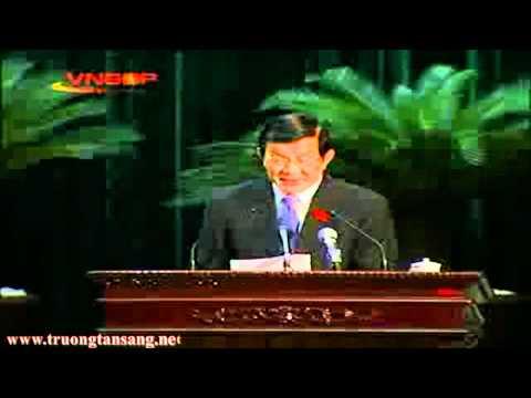 Ông Trương Tấn Sang đề cử chức danh thủ tướng chính phủ khóa XIII