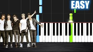 One Direction What Makes You Beautiful Easy Piano Tutorial By Plutax Synthesia