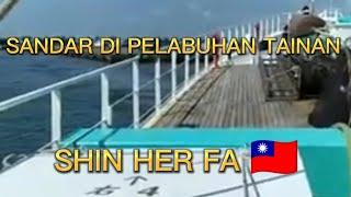 Tainan pelabuhan katea berlayar lagi