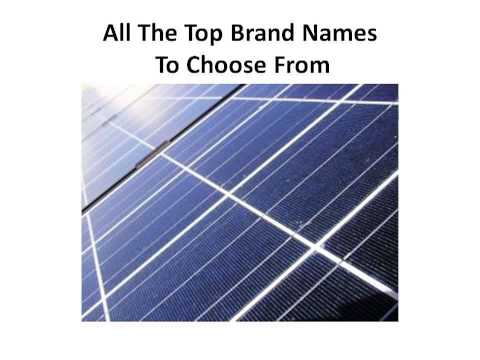 Solar Panel Manufacturers In India | Solar Panels Information | Solar Power Information | Bargain