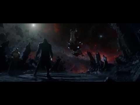 Guardiani della galassia - le parole intimidatorie di Thanos
