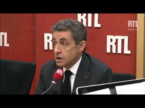 Nicolas Sarkozy répond aux questions des auditeurs de RTL