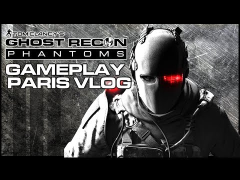 Ghost Recon Phantoms Gameplay & Paris Vlog! (Free to Play)