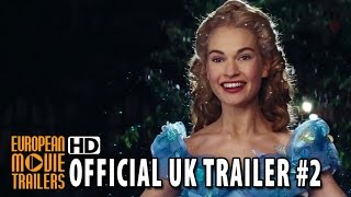 Cinderella Official UK Trailer #2 (2015) - Lily James, Richard Madden HD