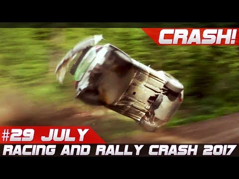 Racing And Rally Crash Compilation Week 29 July Neste Rally Finland 2017 Special