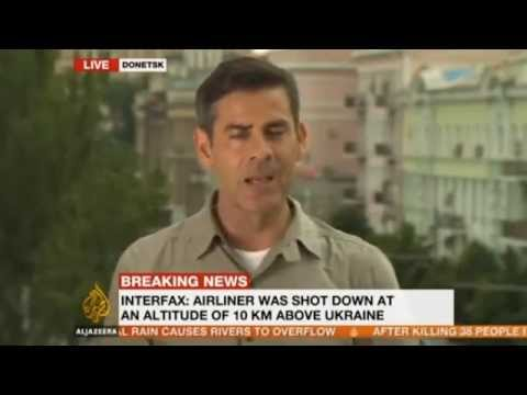 Breaking News - Malaysia Airlines MH17 crashes on Ukraine-Russia border