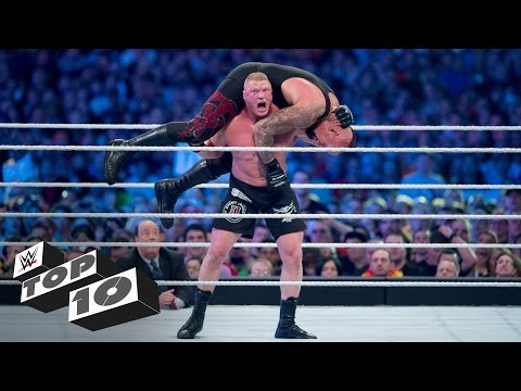 Brock Lesnar's most shocking F5s: WWE Top 10 thumbnail