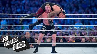 Brock Lesnar's most shocking F5s: WWE Top 10