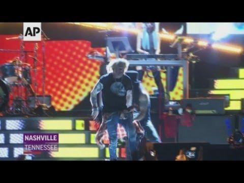 Guns N Roses tour hits Nashville