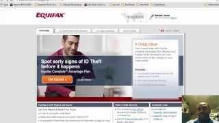 Consumer Credit- MyFico Equifax Credit Report Walk-Thru