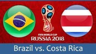 BRESIL VS COSTA RICA EN DIRECT ( ACTION DU MATCH )