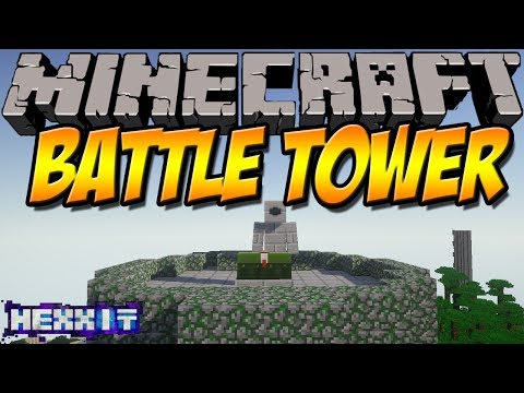 TOWER DUNGEONS   Battle Tower Mod   Minecraft Hexxit Mod Review [DEUTSCH]