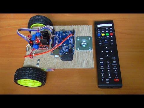 Робот на пульте управления своими руками в домашних условиях