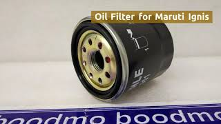 Oil Filter for Maruti Suzuki Ignis