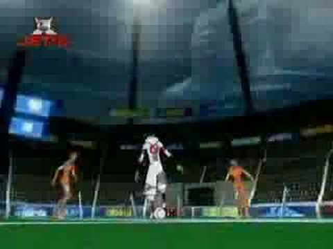 Galactik Football Theme video