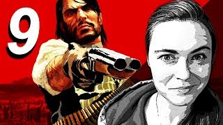 Lilia Plays RED DEAD REDEMPTION #9 (Blind/Live) 2018