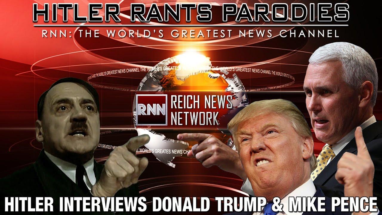 Hitler interviews Donald Trump & Mike Pence