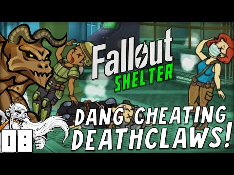 CHEATING DEATHCLAW MASS MURDER!!! Fallout Shelter (iOS/Android/PC)