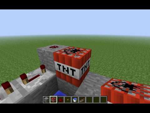Мини TNT пушка смотреть всем!)