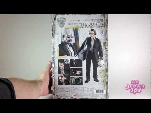 Hot Toys MMS 79 The Dark Knight Joker Bank Robber Version by Marc from the Ungrownups
